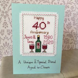 Greetings card - Anniversary