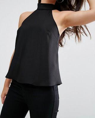 outfit negro tumblr de moda