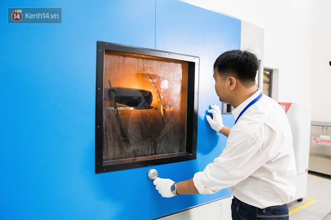 Hình ảnh công xưởng sản xuất xe máy điện Vinfast: Tự động và hiện đại bậc nhất
