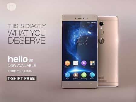 Symphony Helio S2 Smartphone