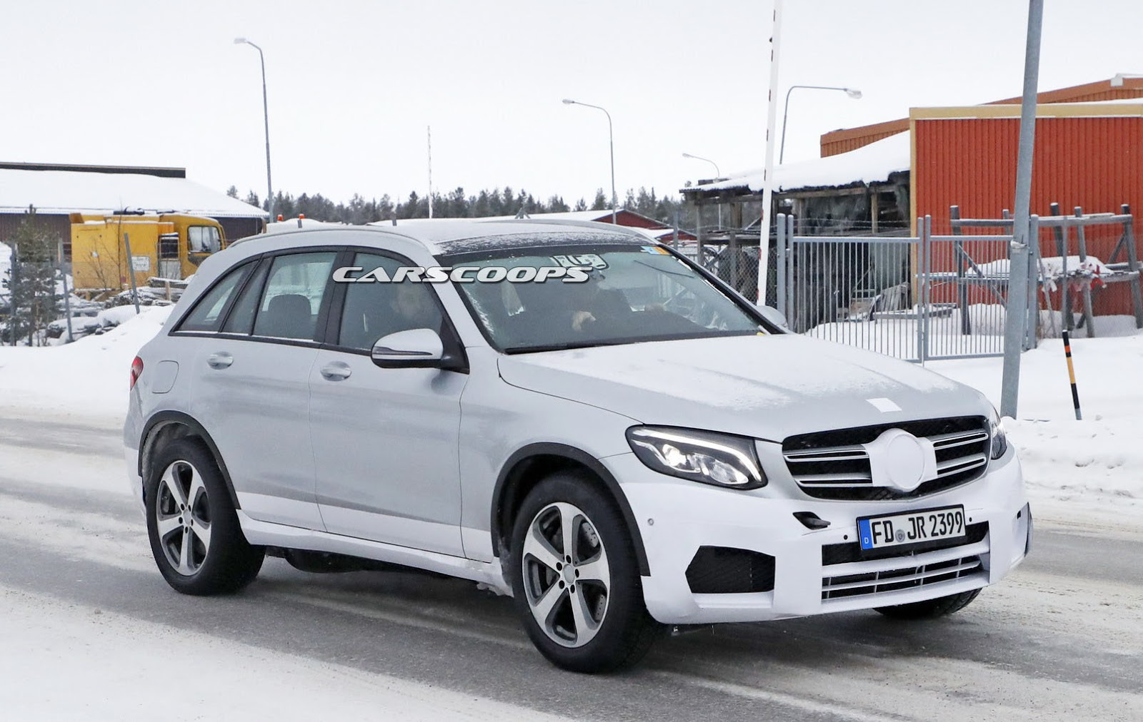 Different Suv Models >> Mercedes EQ Electric SUV Mule Spotted Wearing A GLC As A Decoy