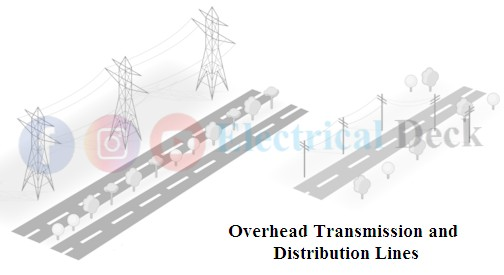 Difference between Overhead Lines and Underground Cables