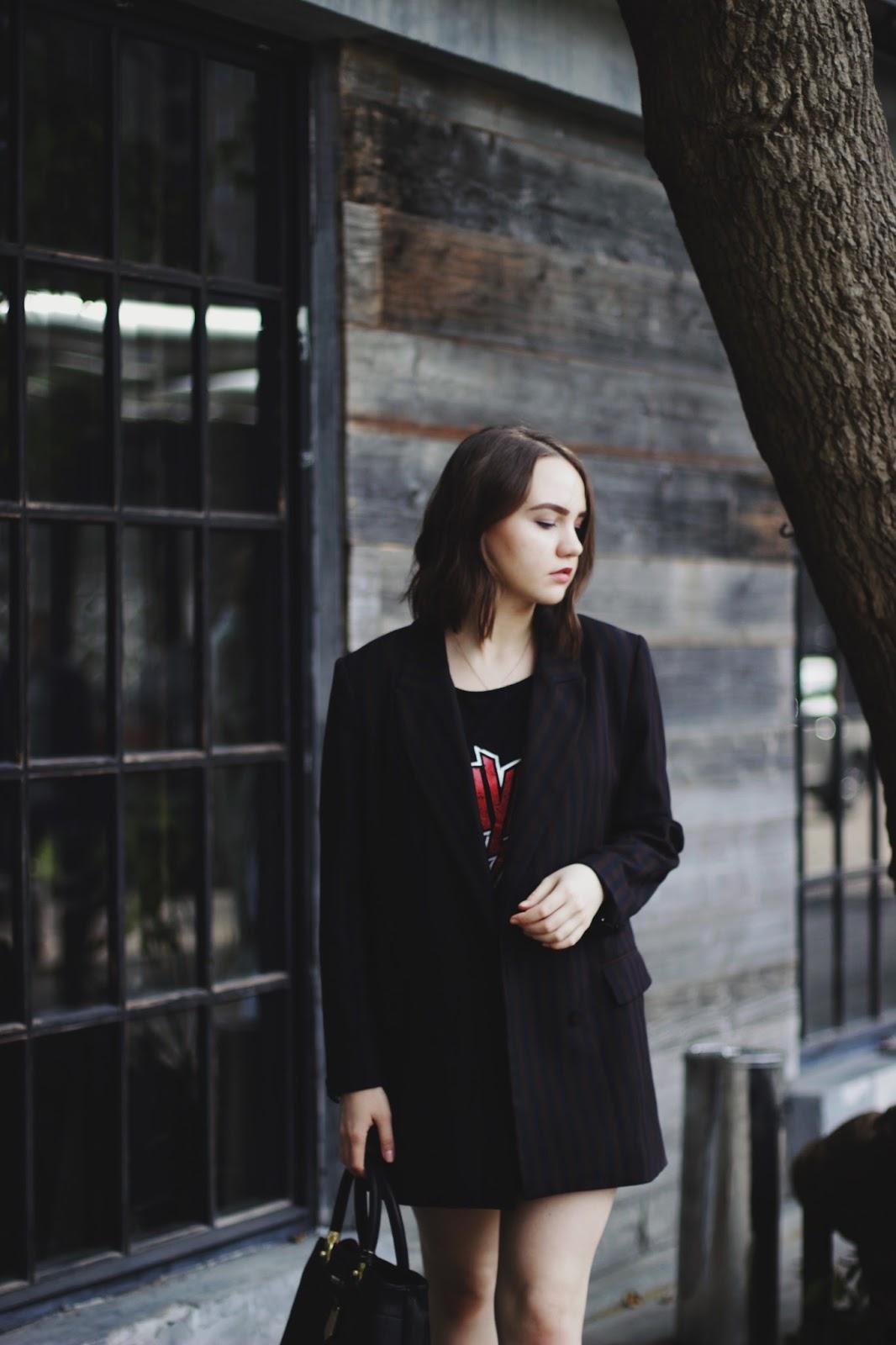 Oversized Blazer | H&M | Fashion Blogger