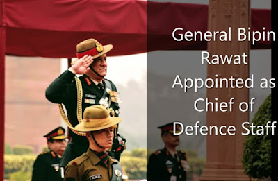 Army chief General Bipin Rawat became India's 1st Chief of Defence Staff