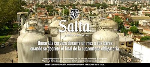 Cerveza Salta: Aguanten Bares #AquíEstamos