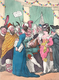 Masquerading by Thomas Rowlandson (30/08/1811)  from the Metropolitan Museum DP881828