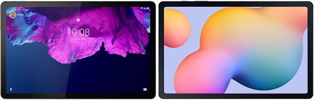 Lenovo Tab P11 vs Samsung Galaxy Tab S6 Lite