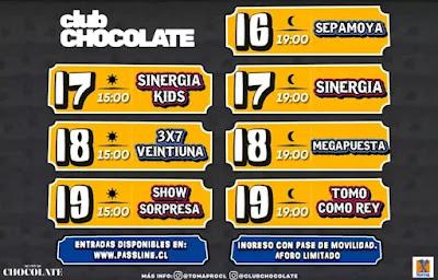"""Vive las fiestas patrias 2021 en Club Chocolate con """"Toma Chocolate, celebra lo que debes"""" musica chilena música chilena"""