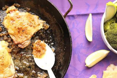 haut de cuisse de poulet cuisson