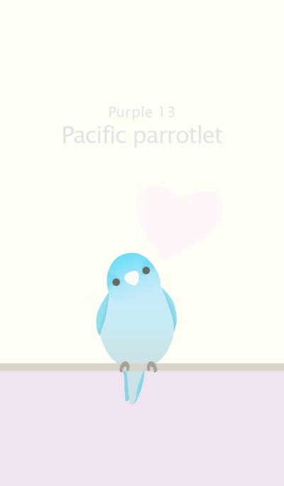 Pacific parrotlet/Purple 13
