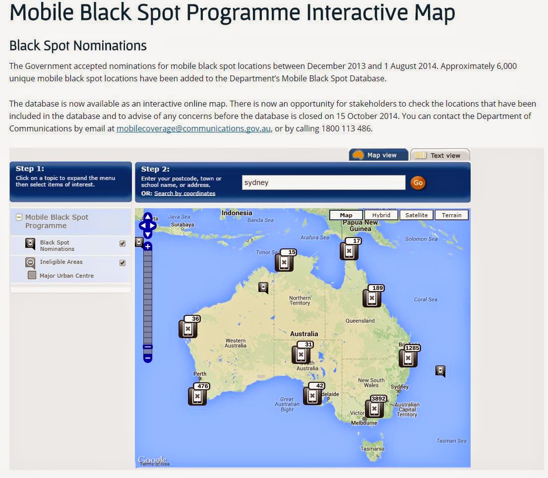 Australia's Mobile Black Spot Program Has Located 6,000 Dead Zones