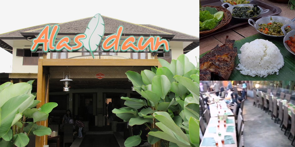 Rumah Makan Alas Daun Bandung