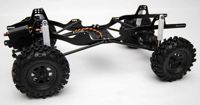 Axial AX10 X-Trail chassis conversion