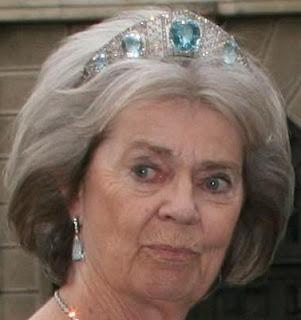 aquamarine kokoshnik tiara sweden princess margaretha