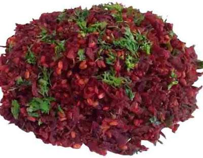 Beet Root Sabzi
