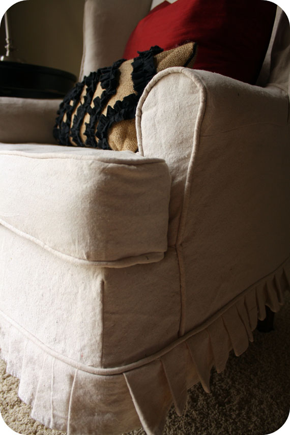 Go Ahead And Put Forth The Extra Effort To Make And/or Use Piping. It Will  Make Your Slipcover Look Much More Polished.