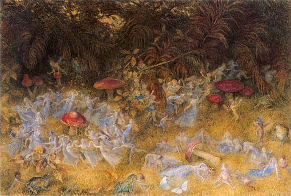 Fairy ring painting