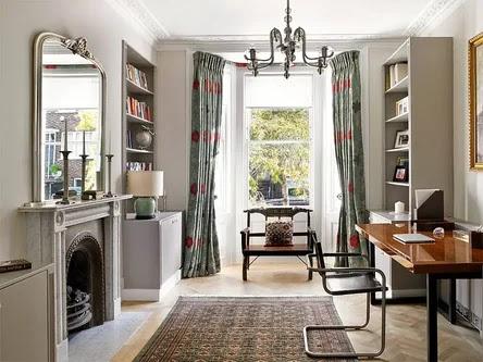 Living room interior english style