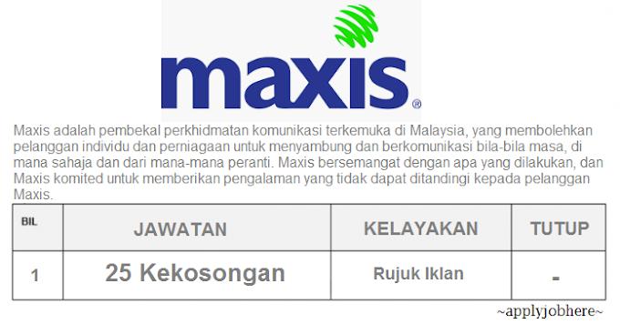 Kerjaya Di Maxis