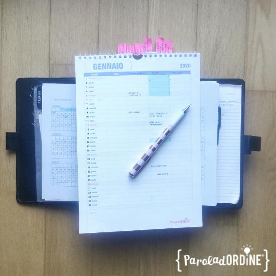 Paroladordine come organizzarsi nel tempo calendario per la famiglia