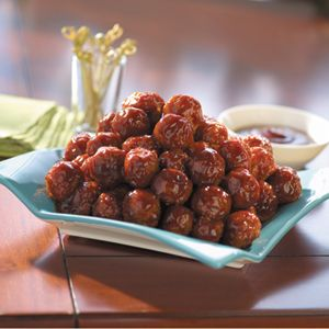Tasty Vittles - Glazed Party Meatballs