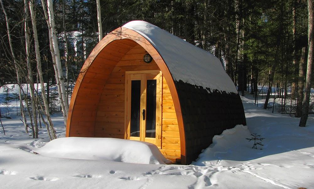 Le Pod sous la neige