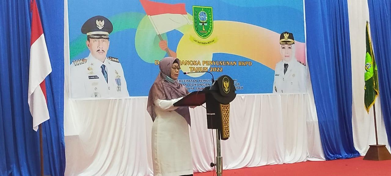 Wabup Natuna Menutup Musrenbang RKPD Kabupaten Natuna Tahun 2022