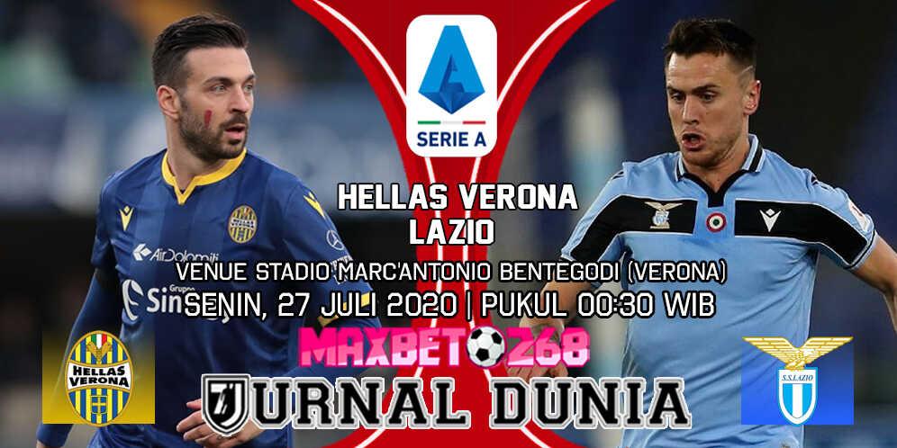 Prediksi Hellas Verona vs Lazio 27 Juli 2020 Pukul 00:30 WIB