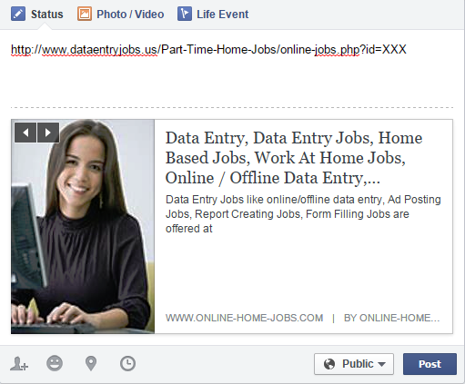 How to post your ad in Facebook - dataentryjobs.us