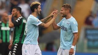 Lazio Bantai Sassuolo 6-1