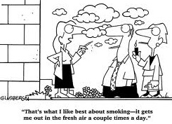 Smoking Funny Humor Cartoon