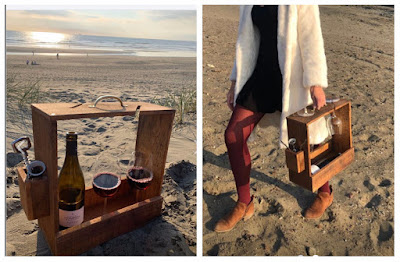 wine glass box carrier caddy image research project diy