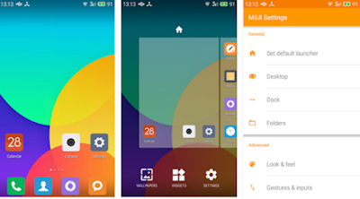 Download MIUI Launcher Apk Terbaru Full Version For Android