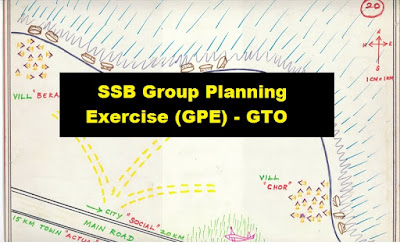 SSB Group Planning Exercise (GPE) - GTO