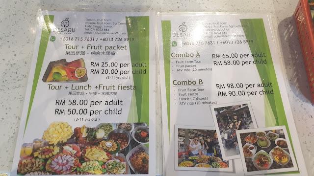 Desaru Fruit Farm Price