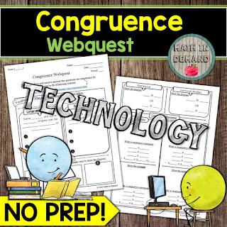 Congruence Webquest