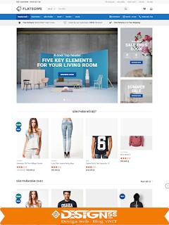 Template blogspot bán quần áo, đồ thời trang chuyên nghiệp