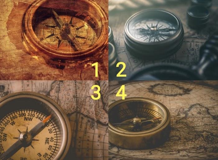 Выберите фото компаса и прочитайте экспресс-предсказание на следующий месяц