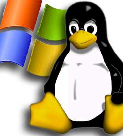 menjalankan software linux di windows