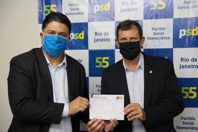 Deputado Salema assina filiação ao PSD