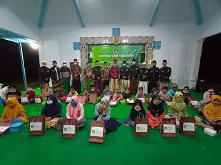 KPM Posko 1 Laksanakan Lepas Pisah dan Santunan Anak Yatim serta Istighatsah Bersama di Desa Palengaan Laok