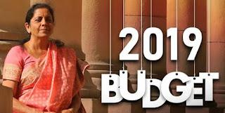 Nirmala Sitharaman Budget  budget 2019 live updates: