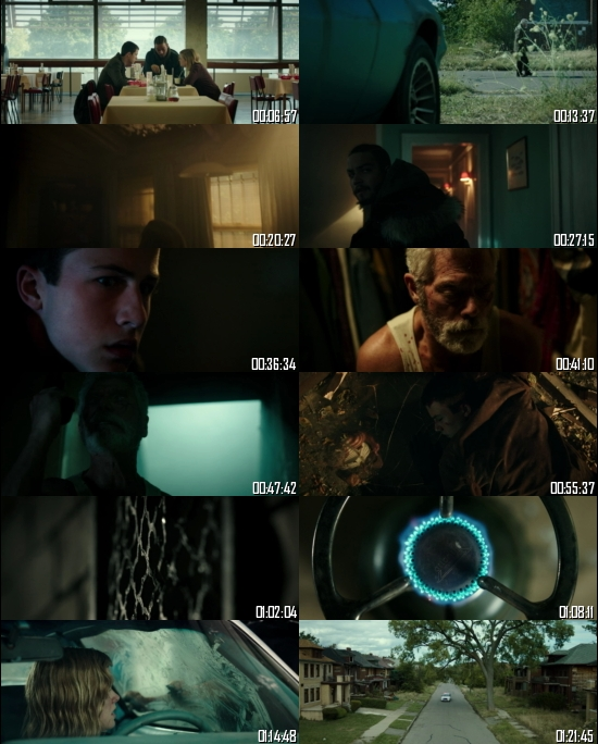 Don't Breathe 2016 BRRip 720p 480p Dual Audio Hindi English Full Movie Download