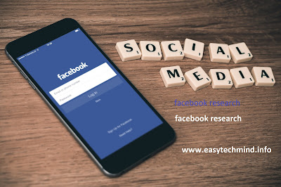 facebook research Application