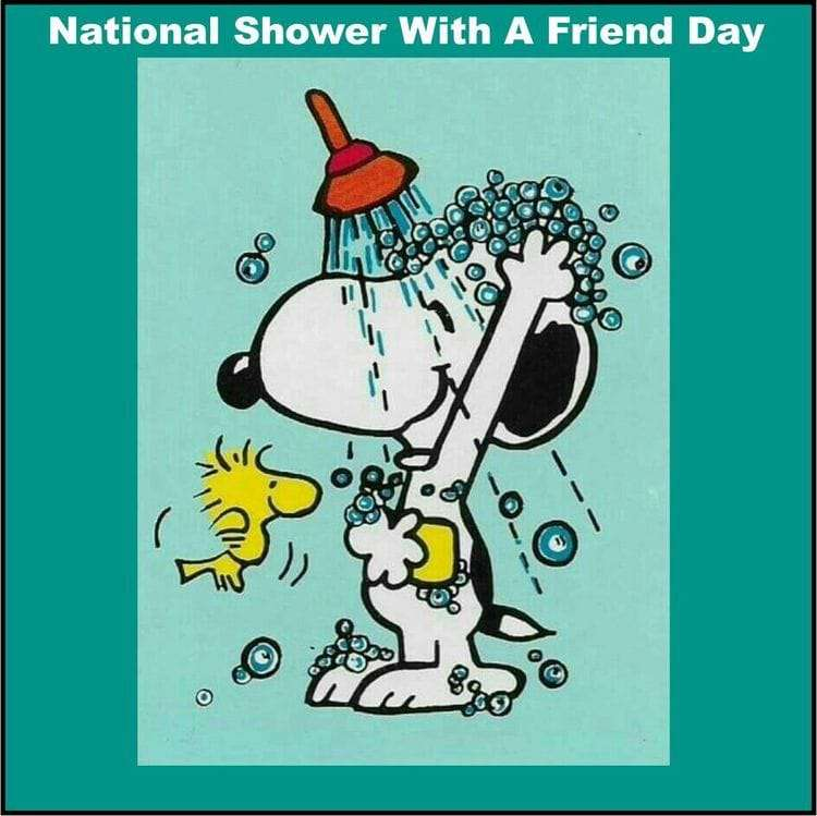 National Shower with a Friend Day Wishes for Instagram