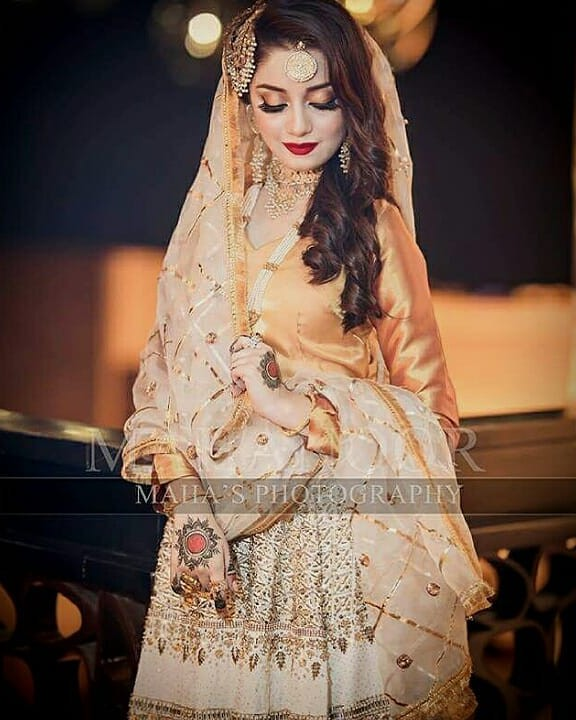 Alizeh Shah Bridal Photos