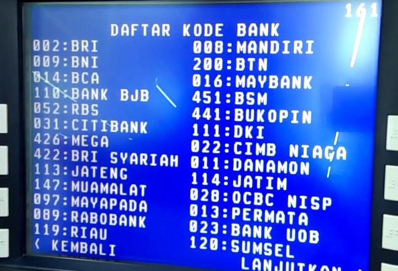 Cara Transfer Uang Lewat Atm Bri Tahun 2020 Warga Negara Indonesia