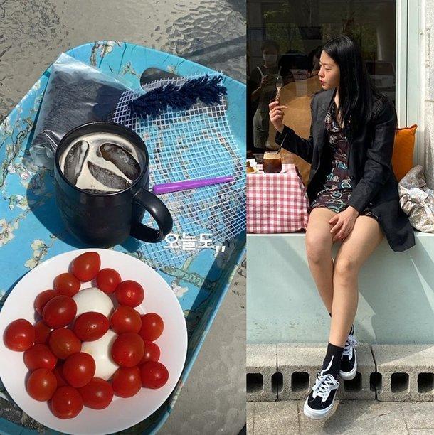 Seolhyun diyetteyken yediklerini paylaştı