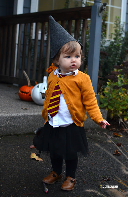 easy hermione costume for kids