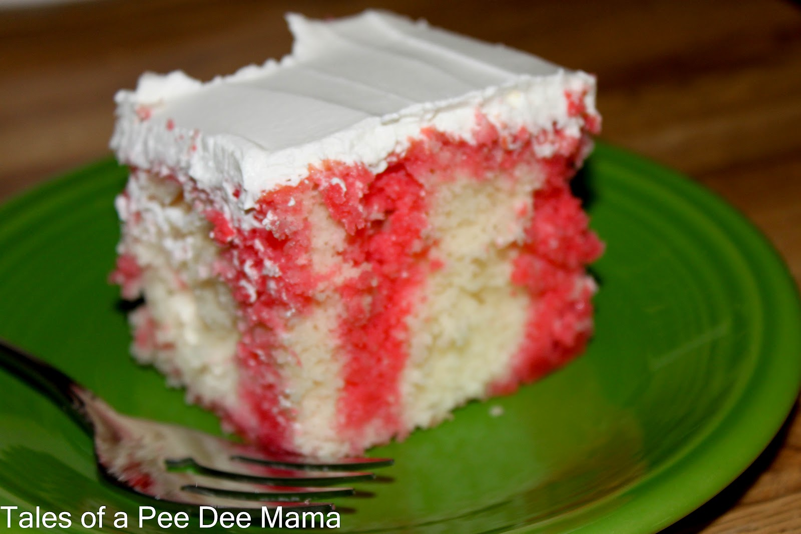 Cake Recipes With Gelatin: Tales Of A Pee Dee Mama: Jello Cake